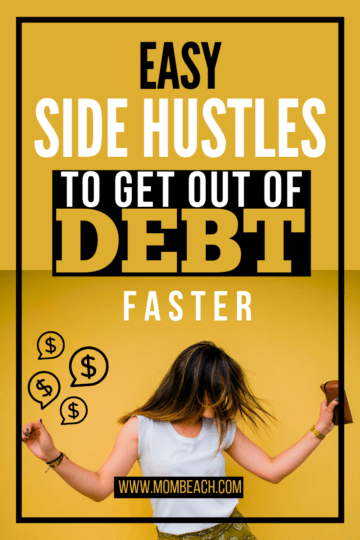 You can get out of debt faster by doing easy side hustles from home in your spare time. Debt payoff can be achieved with ease. It can be difficult to pay off debt, but if you side hustle, it can be done faster. #debtpayoff #howtopayoffdebt #debtsnowball #getoutofdebt #sidehustling #sidehustles