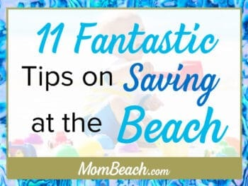 beach saving money