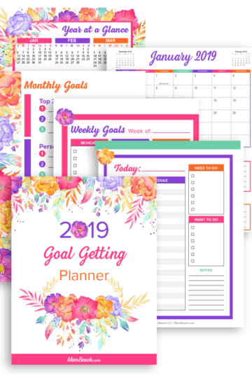 Goal Getting Planner