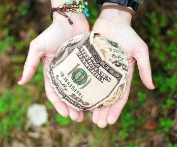 donate - teaching kids about money