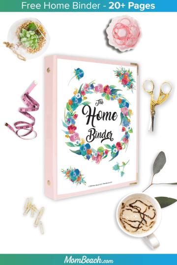 free home binder