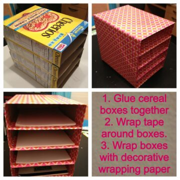 cereal boxes storage idea