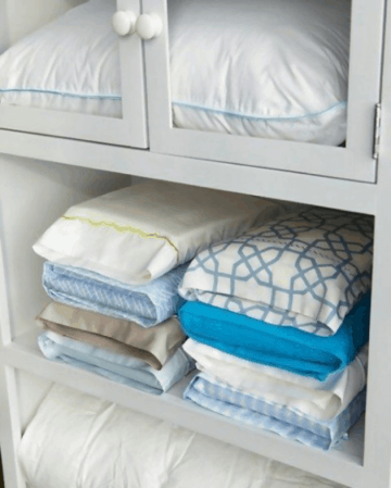 pillow case organization