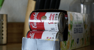 soda boxes upcycling