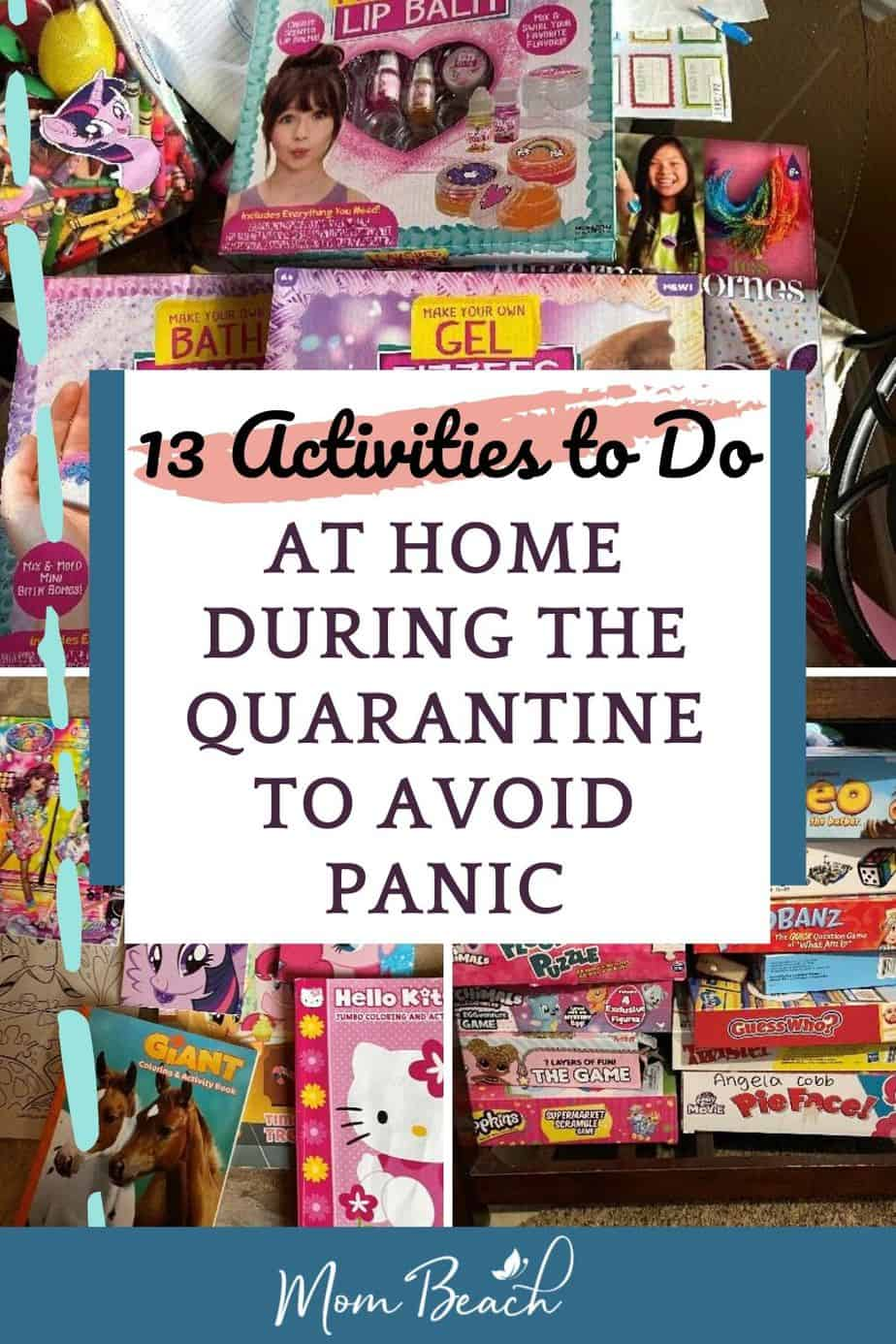 Are you shut indoors because of COVID-19? Here are a list of 13 activities to do at home during quarantine to avoid panicking. There are so many activities to do at home such as DIY crafting, cooking new meals, playing board games, and more! #activitiestodoathome #activitiestodoathome #activitiestodoathomewithkids #indooractivities #kidindooractivities #indoortoddleractivities #indoorkidactivities #thingstodoathome