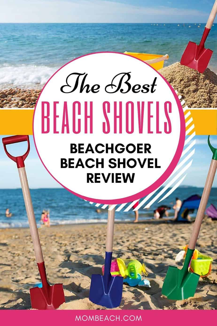 These beach shovels are great for the beach and even gardening! Have fun with these fun beach shovels. Learn all about them in our review! #bestbeachshovels #beachshovels #beachproducts #beachfun