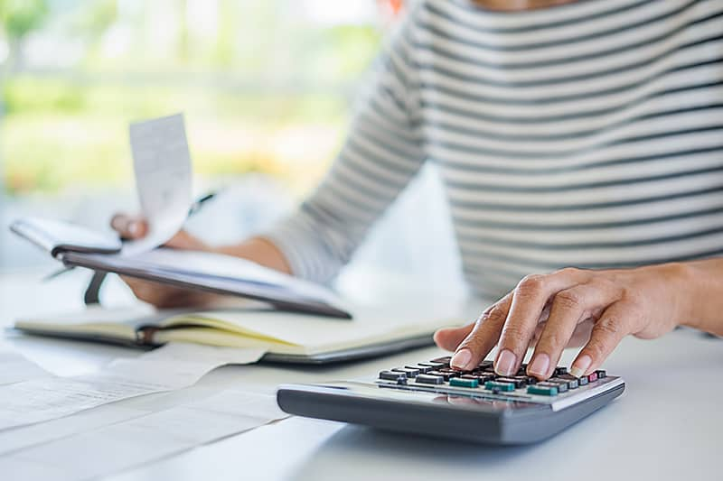 calculating your budget