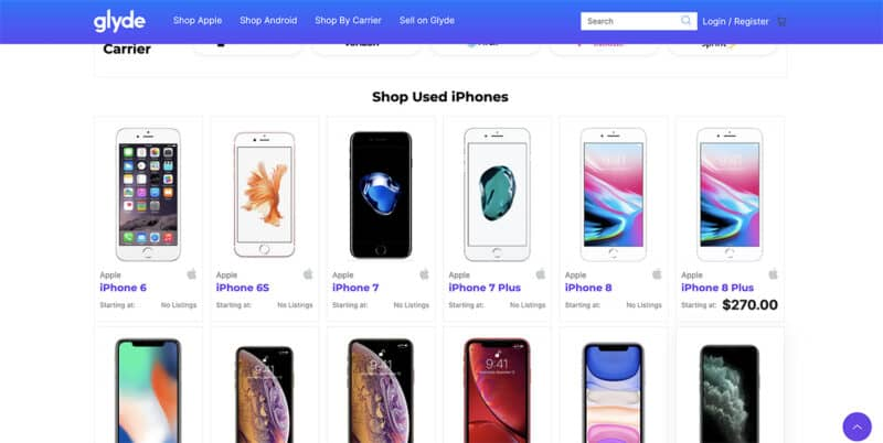 Glyde used phones best place to buy used phones