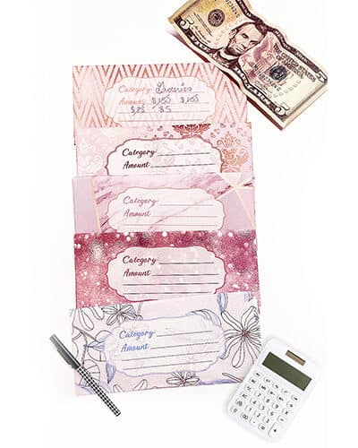 free cash envelope templates