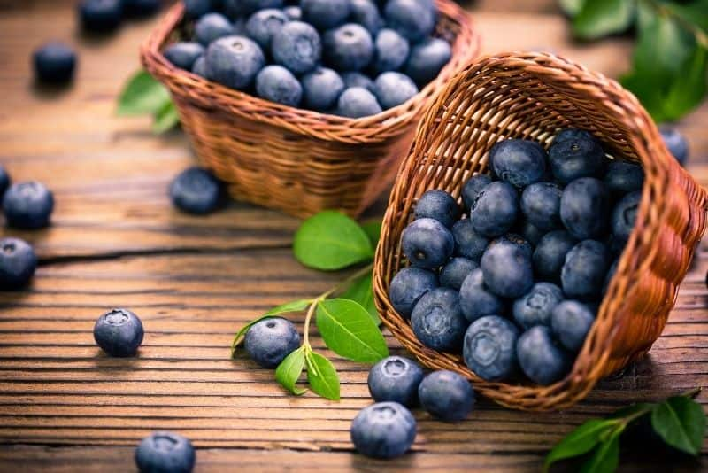 cheap foods blueberries