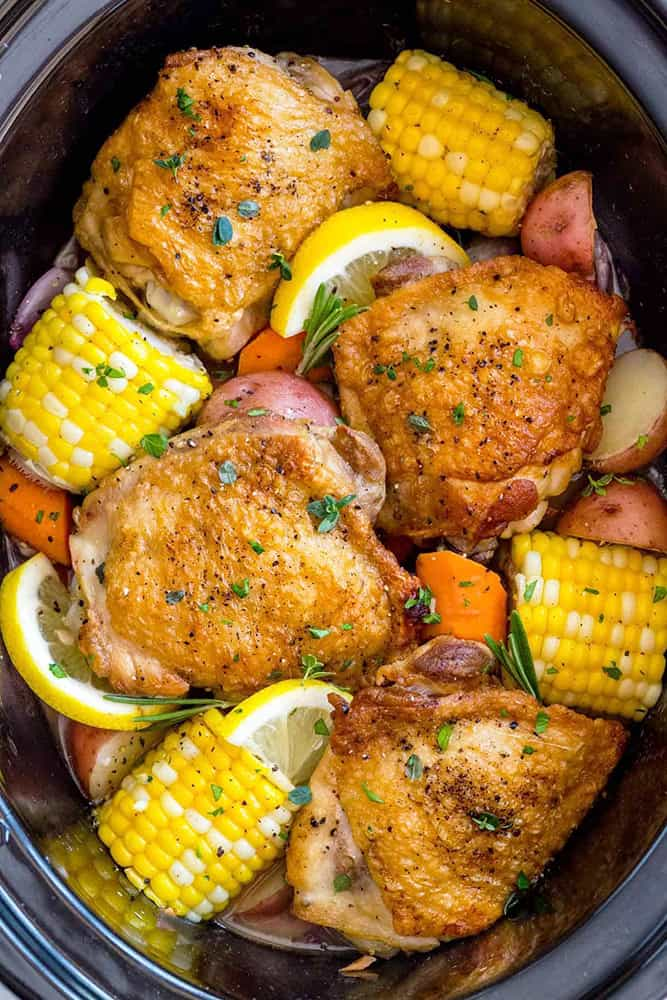 chicken crock pot recipes