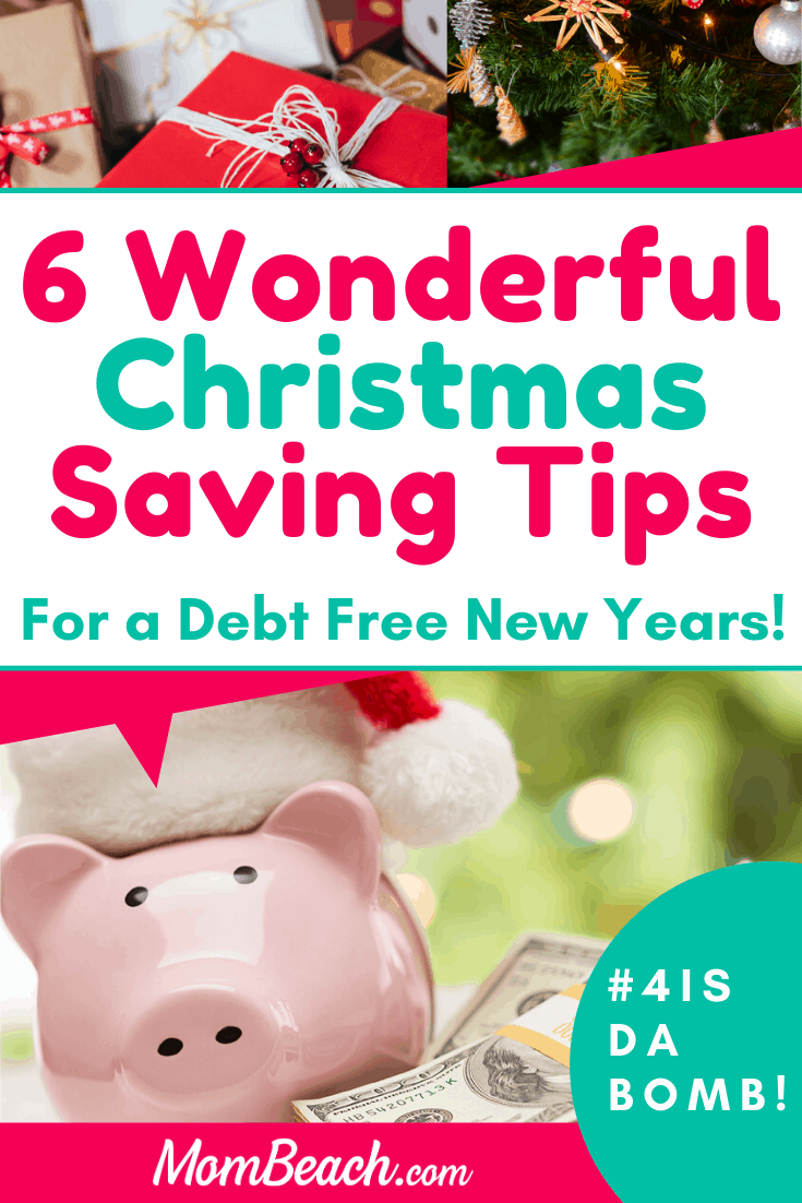 You won't believe how easy these tips are to save money this Christmas holiday. Save money this Christmas with these amazing money saving tips! You can make a biweekly plan to save money and stick to it as a challenge. These money saving ideas will help you achieve your financial goals. You will achieve a debt free New Years if you start a Christmas budget. #christmassavingips #christmassavings #christmassavingideas #moneysavingtips #holidaysavingtips #holidaysavings