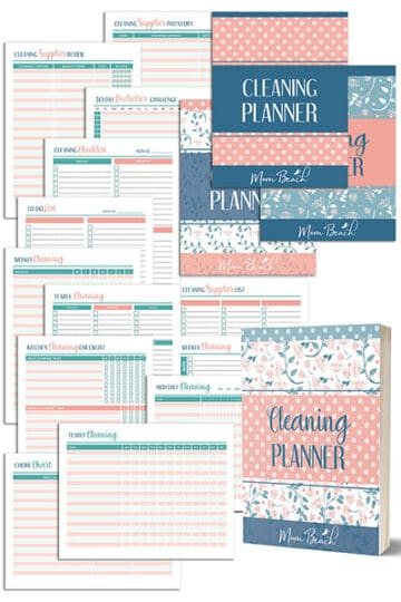 Cute Cleaning Planner