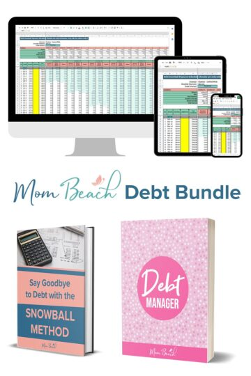 This is the Debt Bundle that Mom Beach sells in her shop.