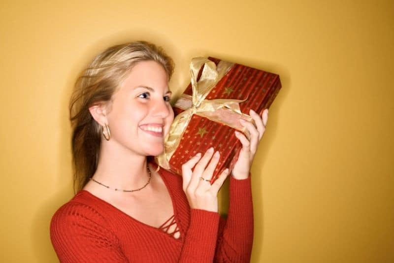 Dollar store christmas gift idea.