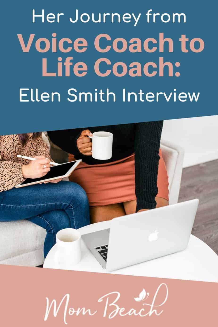Ellen Smith is a voice coach and a life coach that wants to help women everywhere. She has several years of life coaching experience. We are thrilled to feature her as an Inspiring Mompreneur! Life coaching is a great job to do at home. If you are a stay at home mom, consider becoming a life coach! Make money from home by working as a life coach now. #inspiringmompreneur #mompreneur #lifecoach #voicecoach #workathome #onlinejobsfromhome #stayathomemomjobs