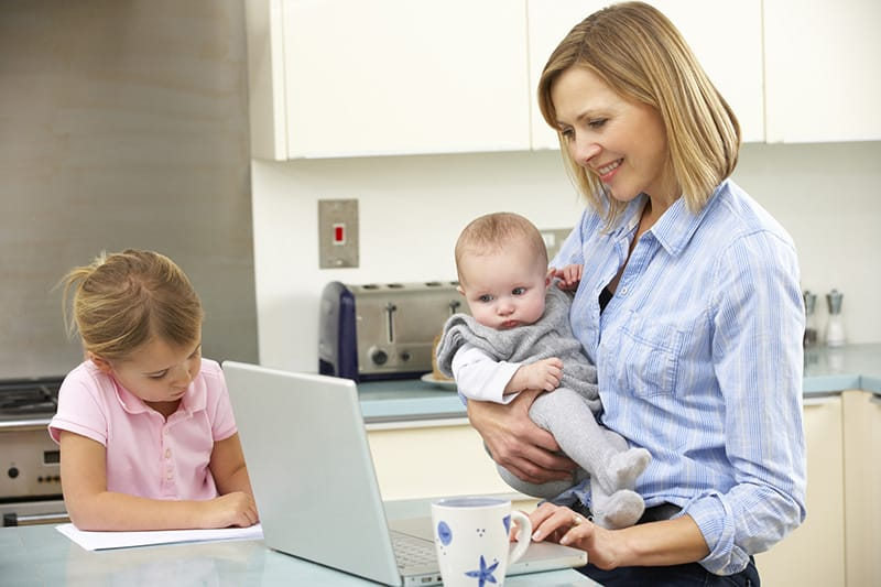 flexible jobs for moms with kids