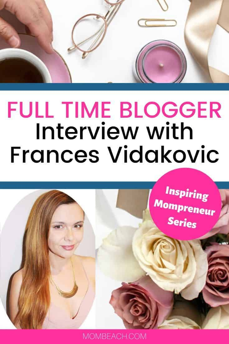 Frances Vidakovic is a productivity expert and full time blogger at Inspiring Lifes Dreams. She also does coaching for people who want to achieve more in life. She has written several books, created many courses, and blogs full time. Her blog gets over 100k page views a month and she makes several thousand a month. She is a stay at home mom that blogs. #productivity #momblogger #mompreneur #stayathomemomjobs #workfromhome #productivitytips #productive