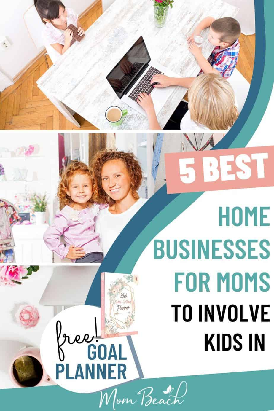 You won't believe how amazing these 5 home business ideas for moms and women are! We have home business ideas for women craft projects and more. You can work from home and start a small business. There are so many ways for women to earn money from home. Stay at home moms can make thousands a month like I do by starting their easy business. It is the best way to make money from home. #homebusinessideas #homebusinessideasforwomen #homebusinessideasformoms #homebusiness