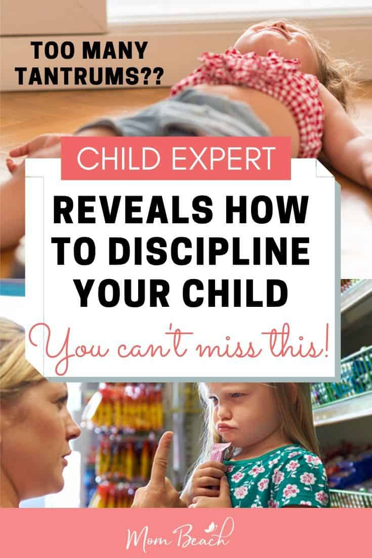 Child Expert, Christine Duff, reveals how to discipline your child the right way if they have a tantrum. Learn from our house expert on the best way for child discipline. If your child throws constant tantrums in stores then you can't miss this! These discipline methods are great for preschoolers, elementary school kids, teens, and toddlers! They are great parenting tips for moms and dads! #toddlerdiscipline #childdiscipline #parentingtips #discpliningchildren #howtodisciplinekids
