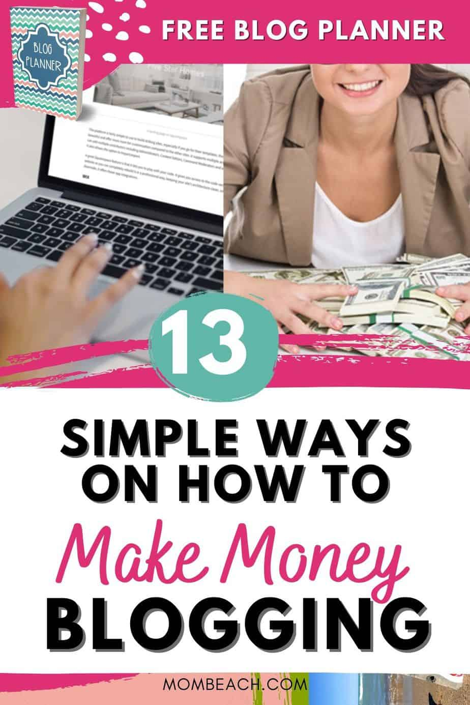 You won't believe how easy it can be to make money blogging! I show you how I make money blogging when my blog is less than 2 years old. It is simple to learn how to make money blogging for beginners in their first month fast. Stay at home and make money blogging now. You can get started with affiliate marketing. It is great to make money blogging for passive income! #howtomakemoneyblogging #howtomakemoneybloggingforbeginners #howtomakemoneybloggingfirstmonth