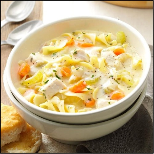 chicken noodle soup cheap dinner ideas