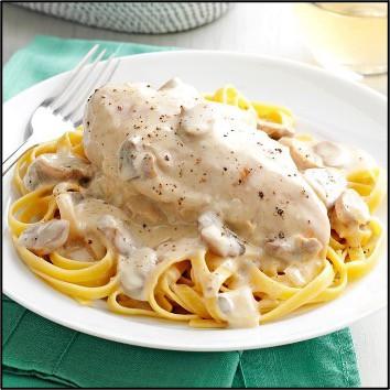 chicken alfredo cheap dinner ideas