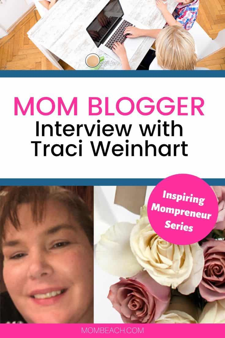 Traci Weinhart is a mom blogger that we featured in this awesome interview. Find out Traci's productivity and goal-setting tips in this interview. #momblogger #mompreneur #blogging #bloggingforbeginners