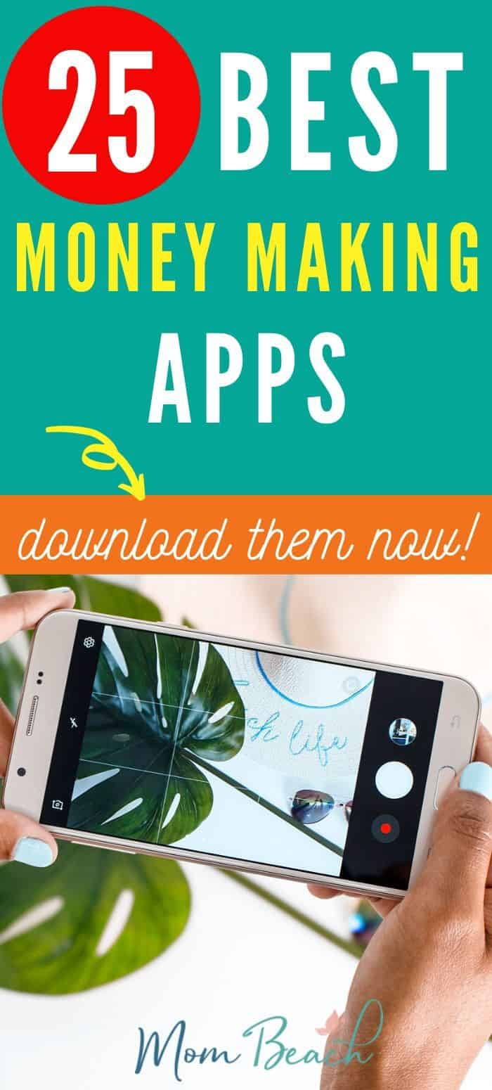 You won't believe these 25 awesome money making apps! Make money now from home in your spare time. It just takes a quick download to get these amazing money making apps! Start making money online from your phone right now. Check out this cool article! #moneymakingapps #bestmoneymakingapps #topmoneymakingapps #appstomakeextracash #makemoneyonline