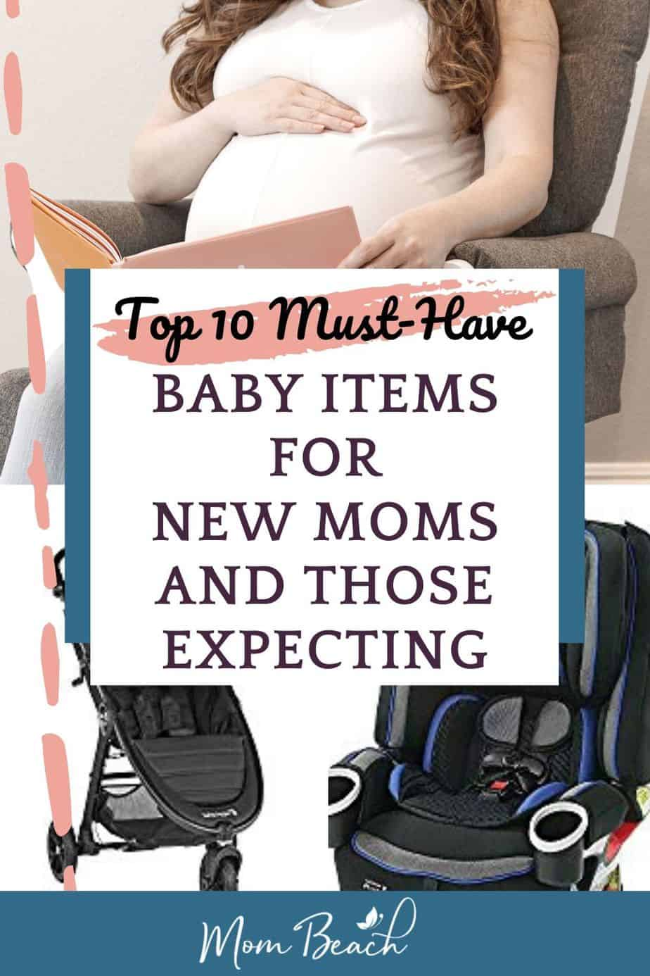 These top 10 must-have items for new moms and expecting ones is a must-read! You want to make sure you have plenty of items for your new baby such as diapers, cribs, breast pump, and more. We have researched the top items on Amazon for your new baby. This is perfect for shower gifts, newborns, and more ideas! #musthaveitemsfornewmoms #musthaveitemsforbaby #musthavebabyitems #musthavebabyshowergifts #musthaveitemsformoms