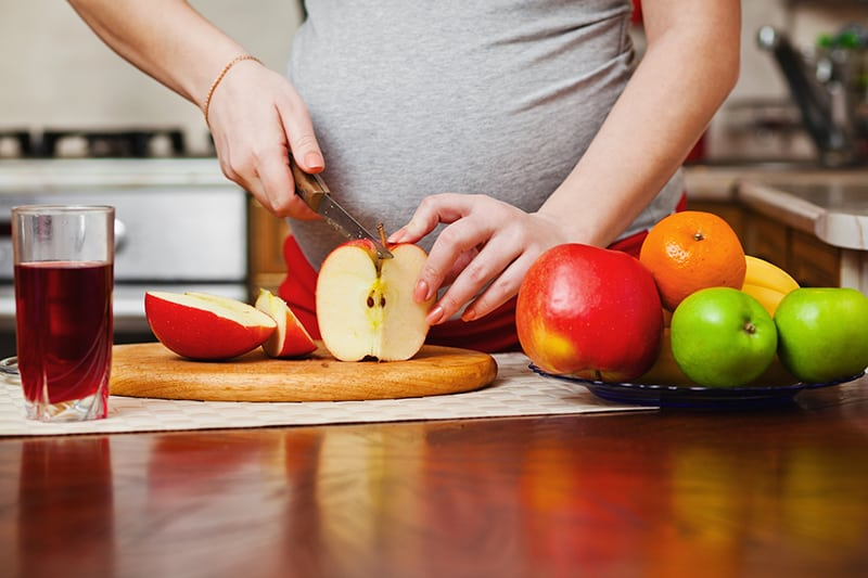 healthy snacks for first time moms
