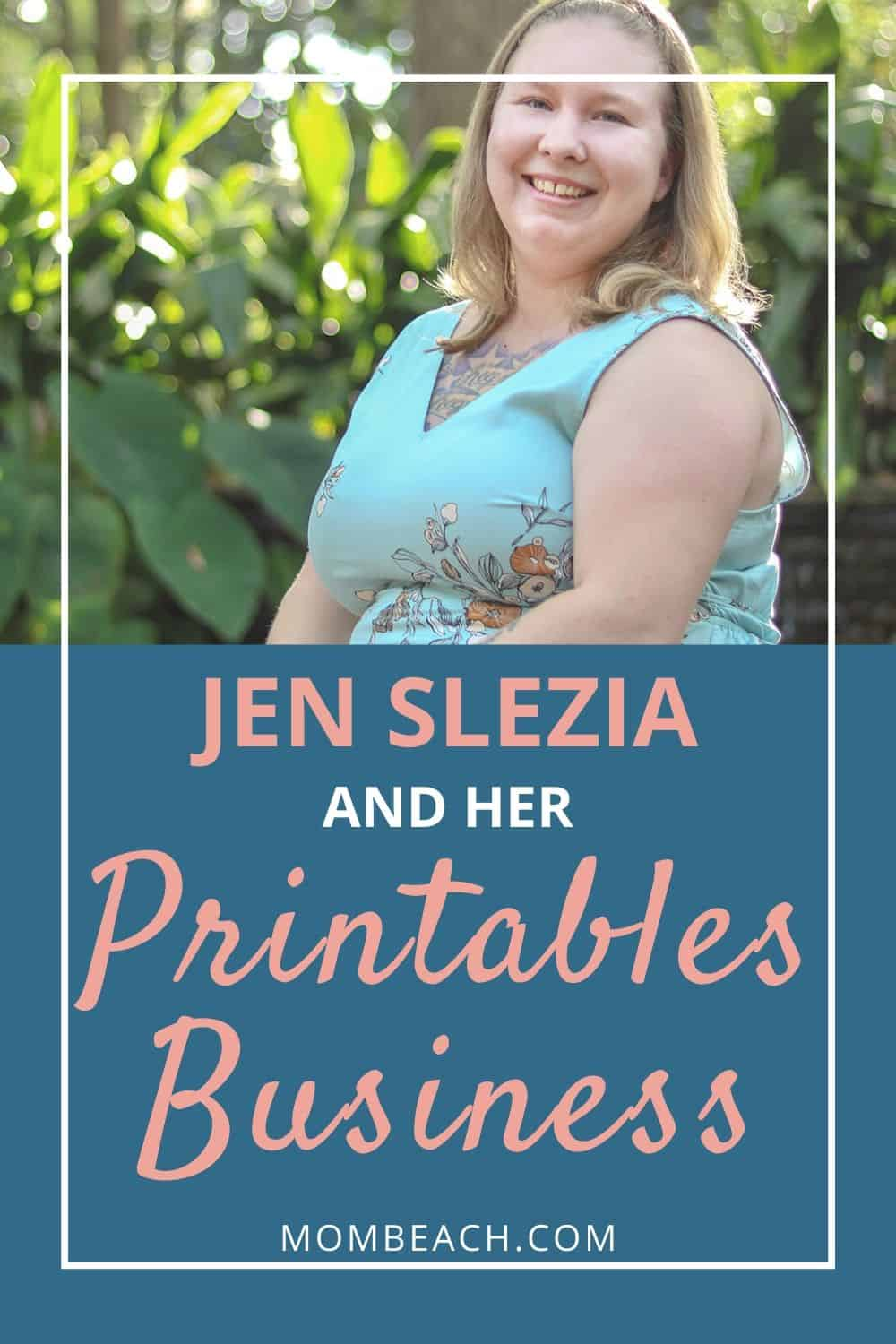 Jen Slezia has created a printables business, Journals to Freedom. In this interview, she reveals how she got started with her own printables business, printables marketing techniques, and more! Maybe you want to start your own business selling printables too! #printablesbusiness #printables #business #startabusiness #howtostartabusiness