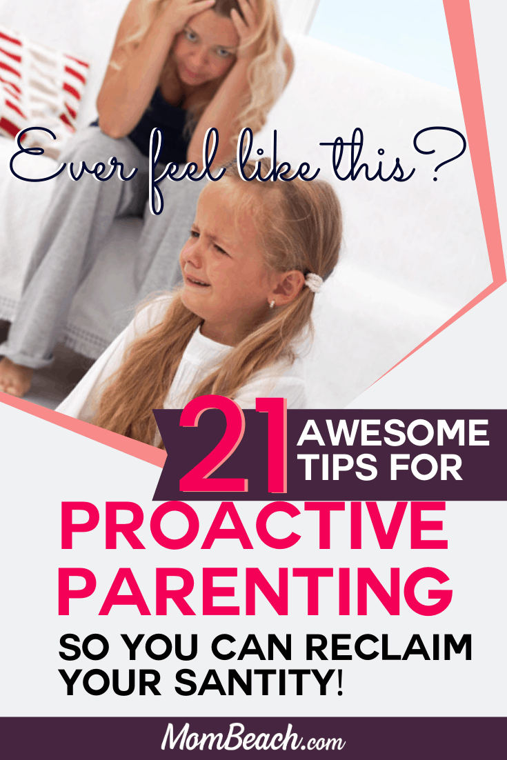 Stop getting frustrated! Proactive parenting is a great way to learn how to control your emotions and be a better parent for your kids. Each parent must learn proactive parent strategies so they stop yelling so much at their kids. Your kids will learn how to respect you better if you are a proactive parent. #proactiveparent #proactiveparenting #proactiveparentingtips #parentingtips #betterparent #howtobeabetterparent #parenting #moms