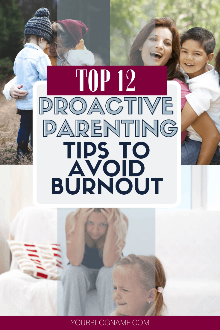 Avoid burnout! Proactive parenting is a great way to learn how to control your emotions and be a better parent for your kids. Each parent must learn proactive parent strategies so they stop yelling so much at their kids. Your kids will learn how to respect you better if you are a proactive parent. #proactiveparent #proactiveparenting #proactiveparentingtips #parentingtips #betterparent #howtobeabetterparent #parenting #moms