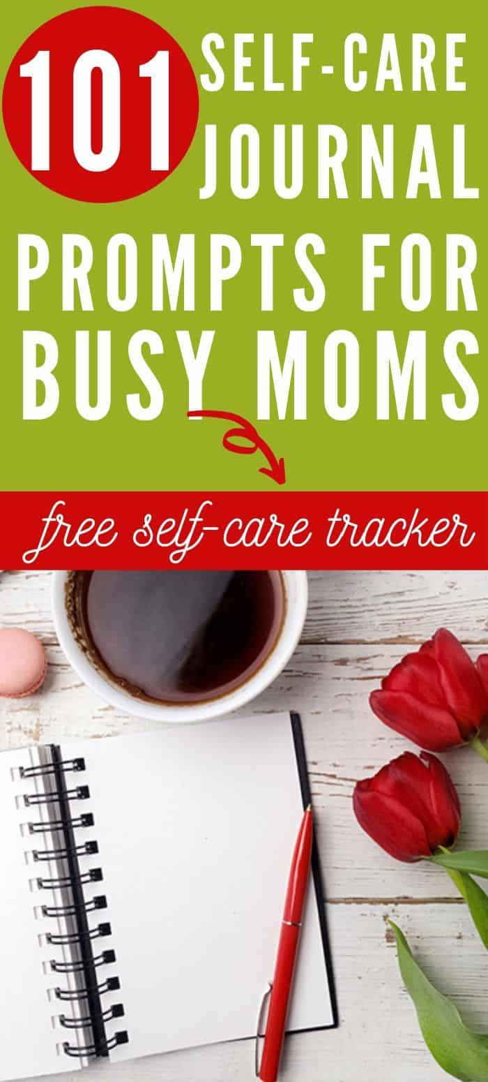 Start relaxing right now with these 101 self-are journal ideas and prompts. There is a free printable self-care tracker with this post. The free printable challenges you to track your self-care and self-love for 30 days. It has a DIY checklist that will provide inspiration daily. #selfcarejournal #selfcarejournalideas #selfcarejournalfreeprintable #selfcarediyjournal #selfcarechallenge