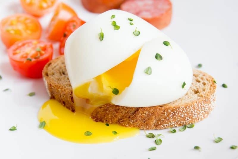 poached egg meal planning
