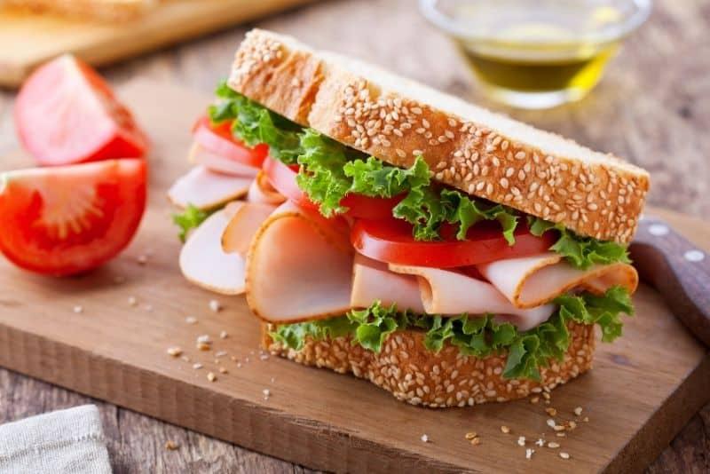 turkey sandwich meal