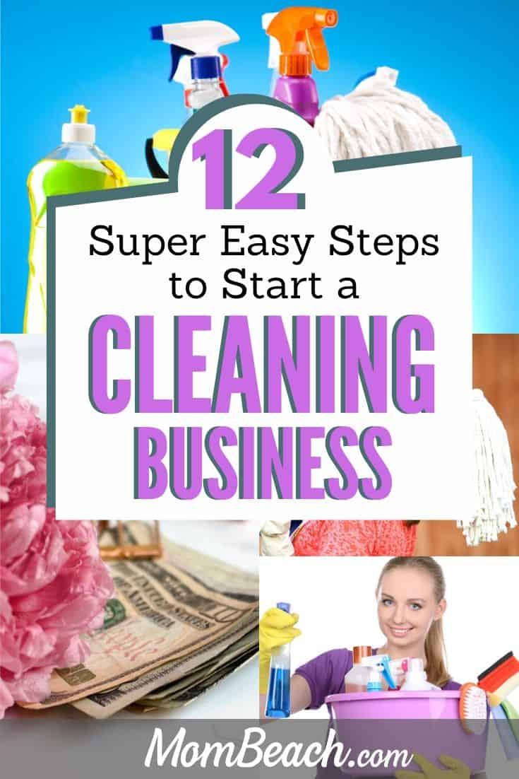 Starting a cleaning business is SUPER EASY with these 12 steps. Marketing your cleaning business is a must. Cleaning business supplies are needed such as flyers, cards, forms and you need names for your business. Start a residential cleaning business easily and get a logo created on Fiverr with these tips. #cleaningbusinesstips #cleaningbusiness #howtostartacleaningbusiness #cleaningbusinessideas #cleaning #business #startabusiness #sidehustle