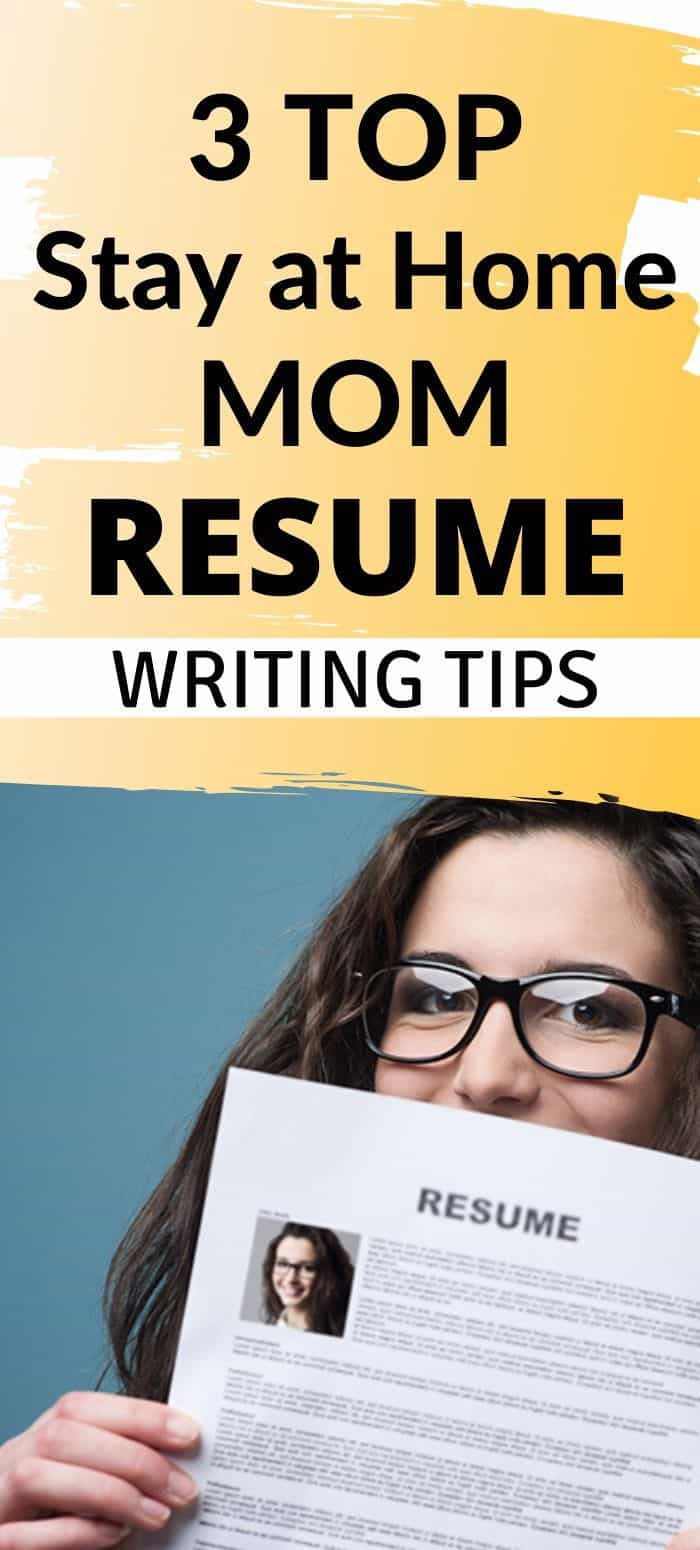 These resume tips for stay at home moms will help you get back to work. There are several jobs to do from home and these resume tips will help get you to work. You can stay home with your kids and get a remote job. These resume writing tips are simple and easy to understand. #stayathomemomresumetips #resumetips #stayathomemomresume #resumewritingtips #jobsforstayathomemoms #remoteworkstayathomemoms