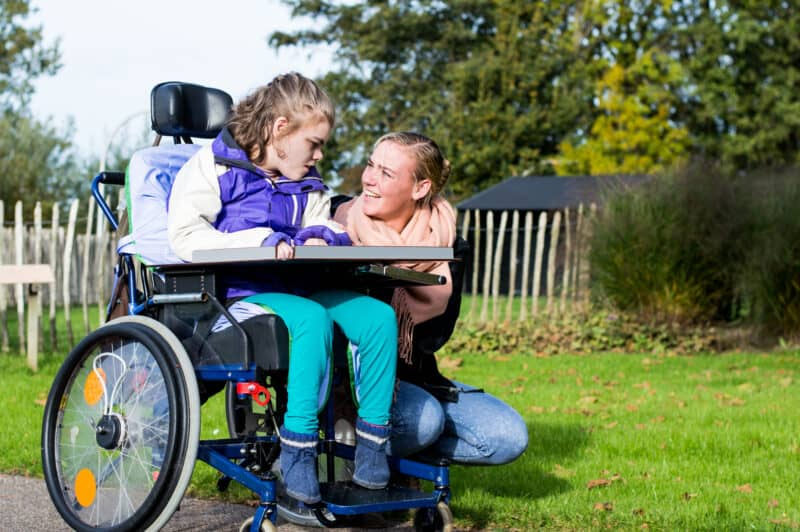 talking to child about disabled
