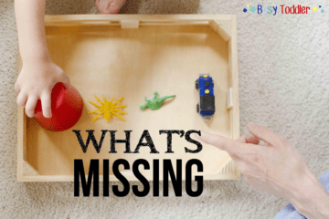 What's Missing: A Toddler Game